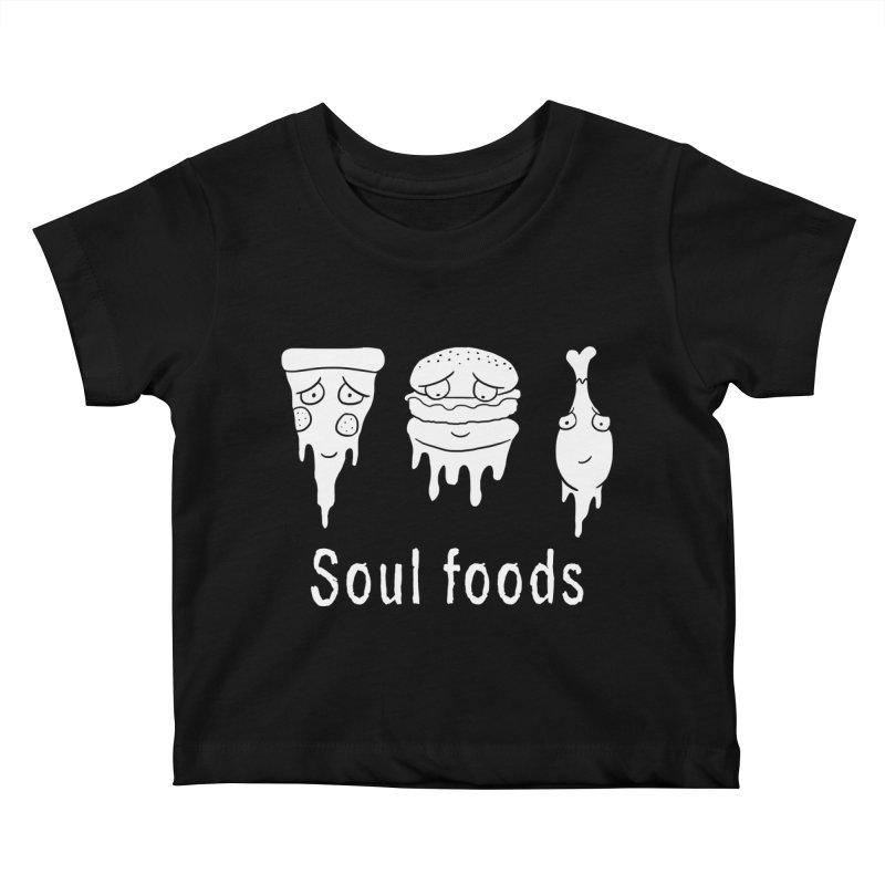 Soul Foods Kids Baby T-Shirt by vincenttrinidad's Artist Shop