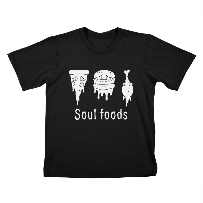Soul Foods Kids T-Shirt by vincenttrinidad's Artist Shop
