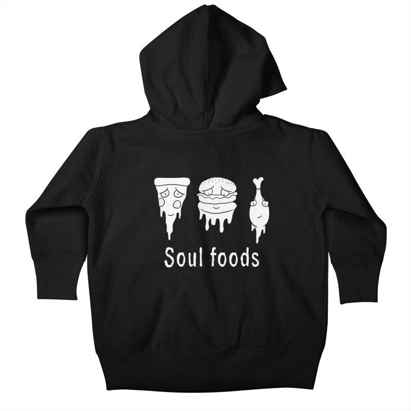 Soul Foods Kids Baby Zip-Up Hoody by vincenttrinidad's Artist Shop
