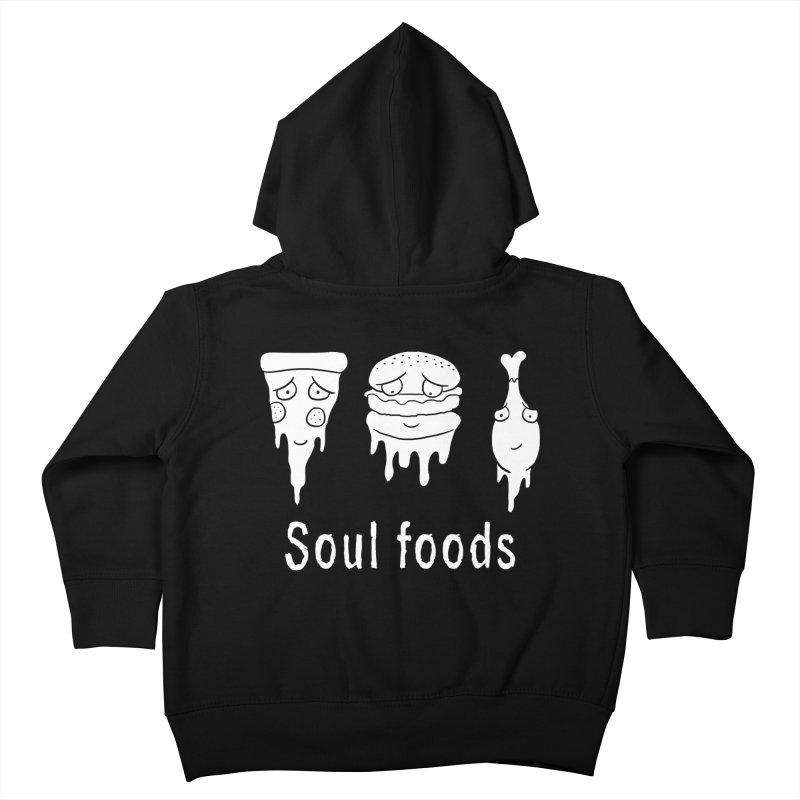 Soul Foods Kids Toddler Zip-Up Hoody by vincenttrinidad's Artist Shop