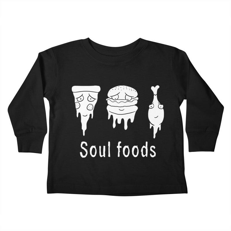 Soul Foods Kids Toddler Longsleeve T-Shirt by vincenttrinidad's Artist Shop