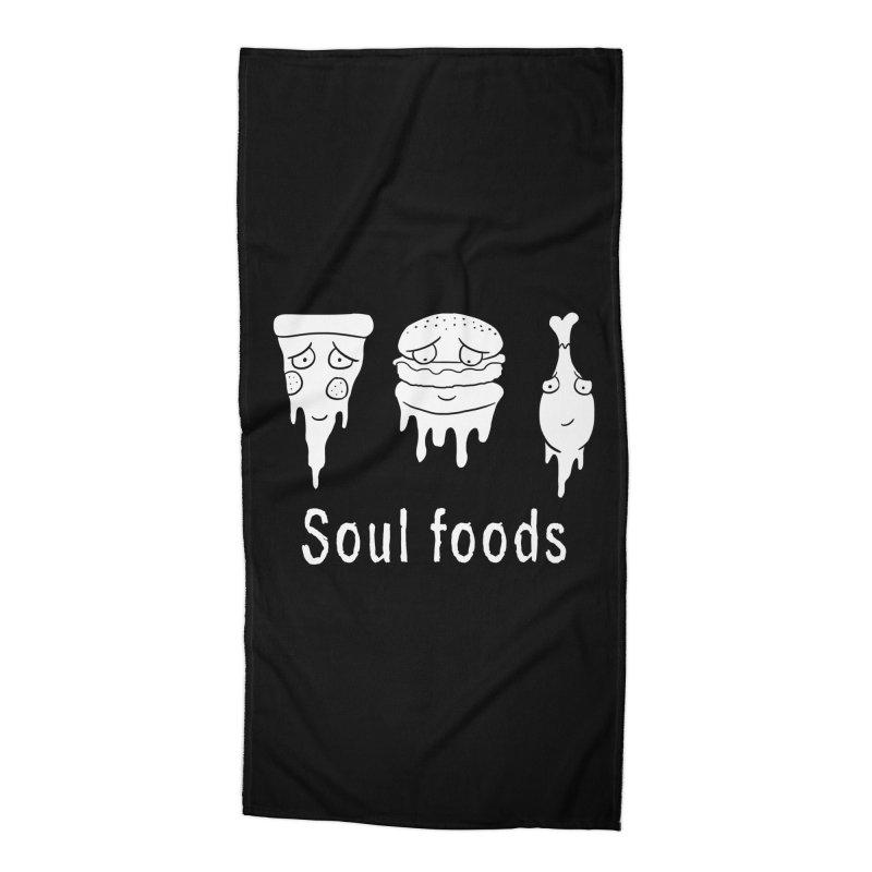 Soul Foods Accessories Beach Towel by vincenttrinidad's Artist Shop
