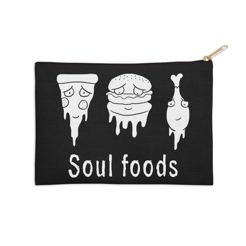 Soul Foods Accessories Zip Pouch by vincenttrinidad's Artist Shop