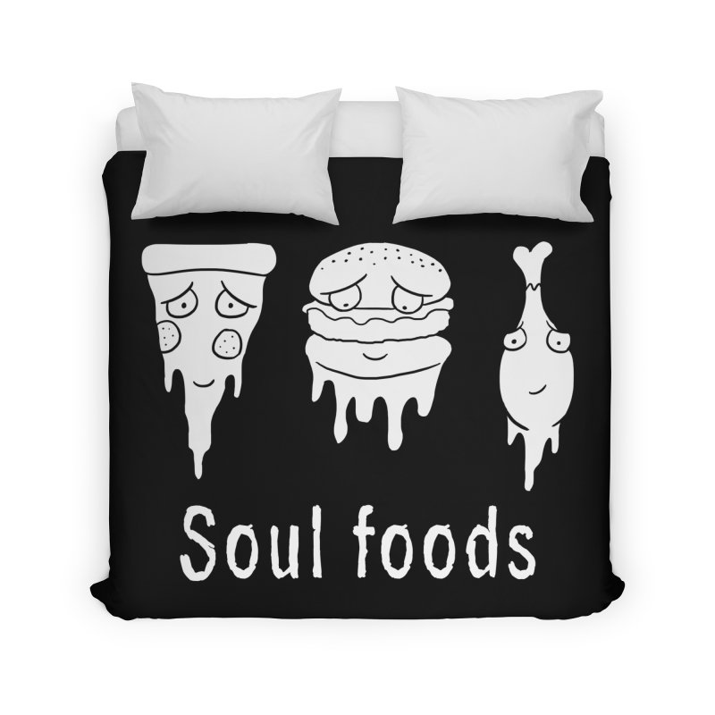 Soul Foods Home Duvet by vincenttrinidad's Artist Shop