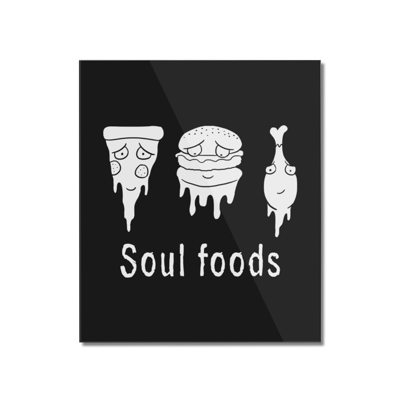 Soul Foods Home Mounted Acrylic Print by vincenttrinidad's Artist Shop