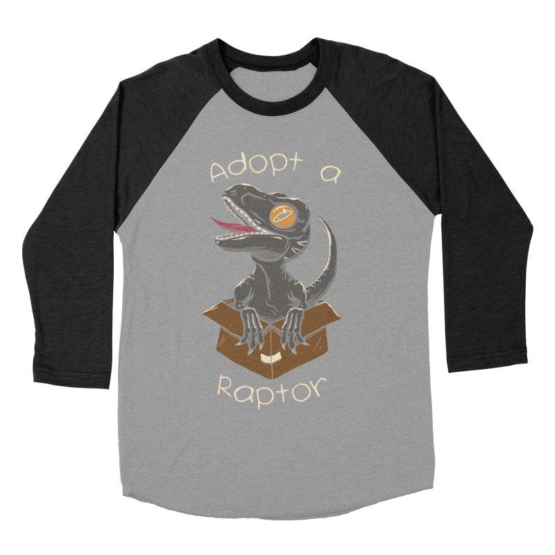Adopt a Raptor Women's Baseball Triblend T-Shirt by vincenttrinidad's Artist Shop