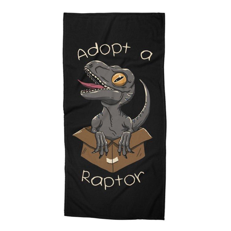 Adopt a Raptor Accessories Beach Towel by vincenttrinidad's Artist Shop