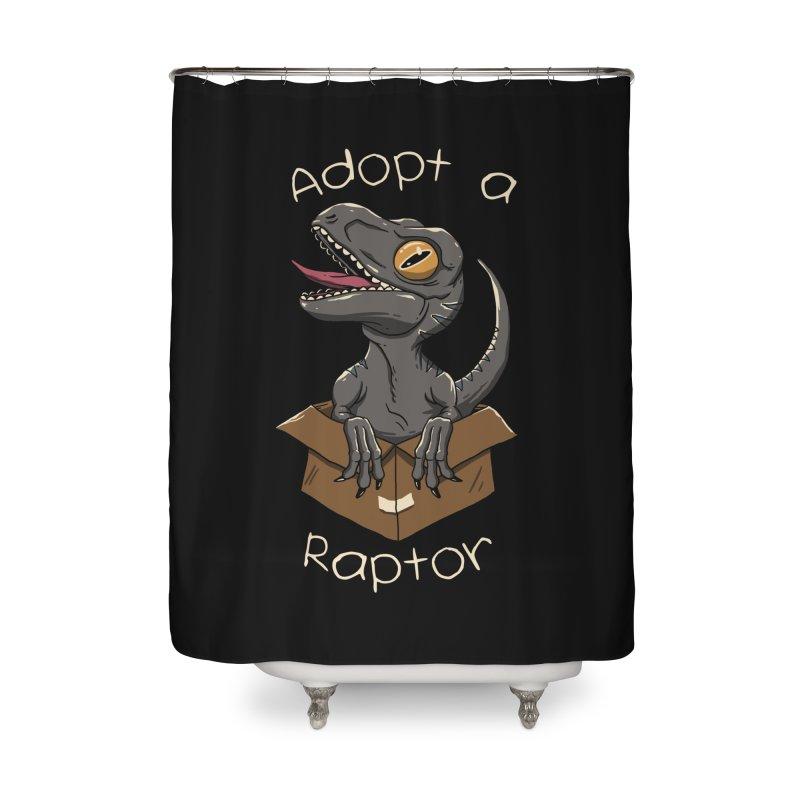 Adopt a Raptor Home Shower Curtain by vincenttrinidad's Artist Shop