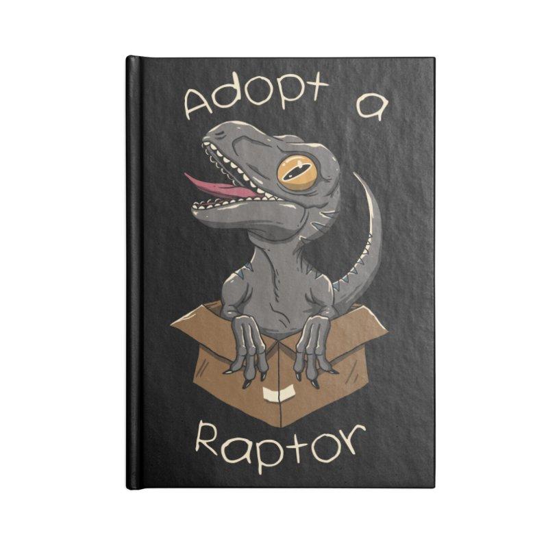 Adopt a Raptor Accessories Notebook by vincenttrinidad's Artist Shop