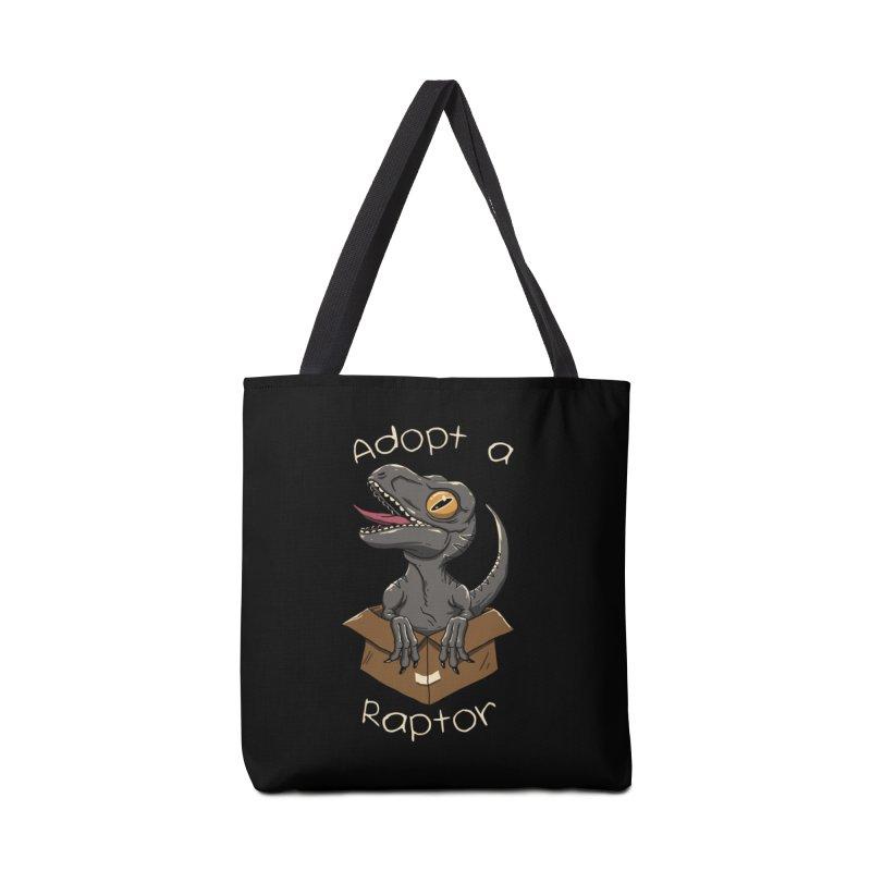 Adopt a Raptor Accessories Bag by vincenttrinidad's Artist Shop