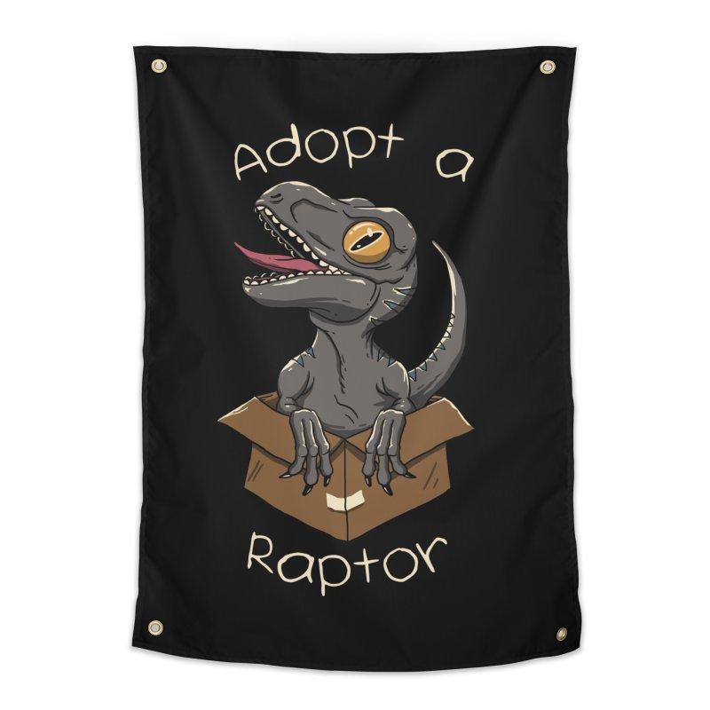 Adopt a Raptor Home Tapestry by vincenttrinidad's Artist Shop
