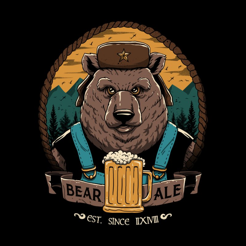 Beer & Bear Home Rug by vincenttrinidad's Artist Shop