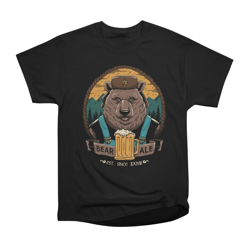 Beer & Bear Men's Heavyweight T-Shirt by vincenttrinidad's Artist Shop