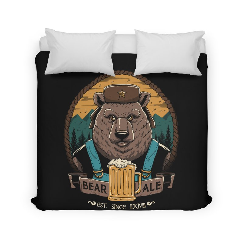 Beer & Bear Home Duvet by vincenttrinidad's Artist Shop