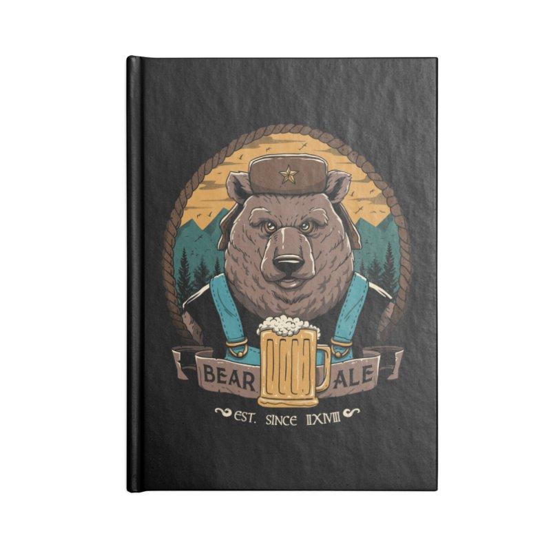 Beer & Bear Accessories Notebook by vincenttrinidad's Artist Shop