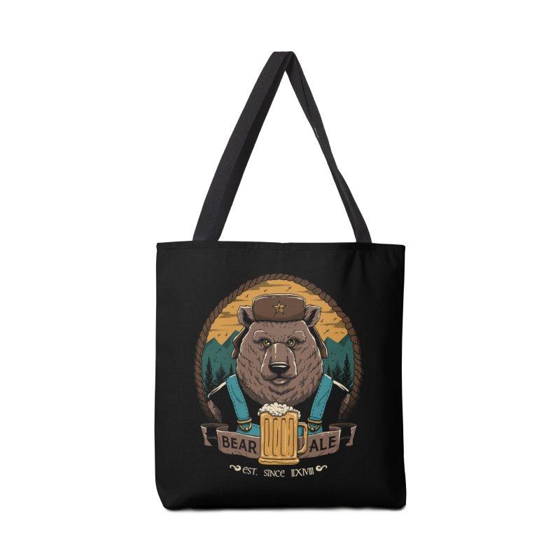 Beer & Bear Accessories Bag by vincenttrinidad's Artist Shop