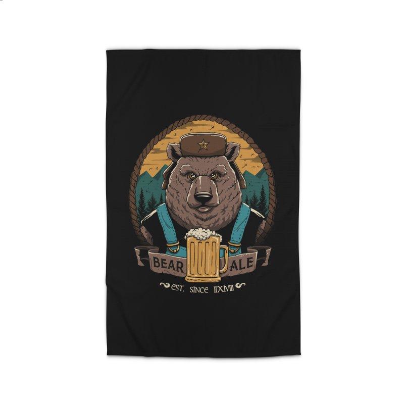 Beer & Bear Home Rug by vincenttrinidad's Artist Shop