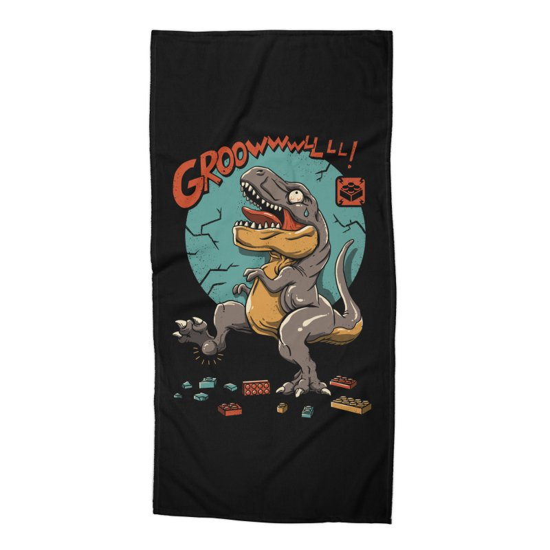Wrong Dino Stomp Accessories Beach Towel by vincenttrinidad's Artist Shop