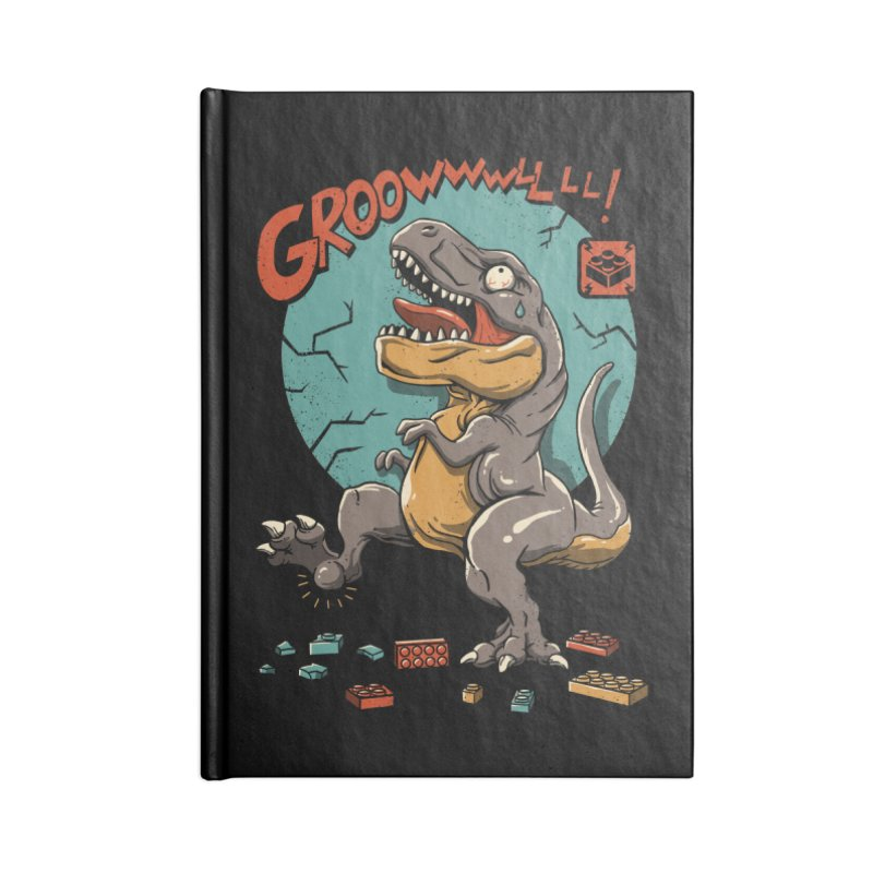 Wrong Dino Stomp Accessories Notebook by vincenttrinidad's Artist Shop