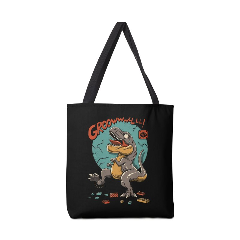 Wrong Dino Stomp Accessories Bag by vincenttrinidad's Artist Shop