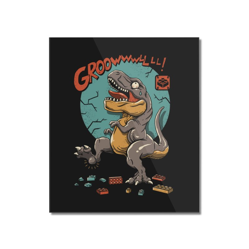 Wrong Dino Stomp Home Mounted Acrylic Print by vincenttrinidad's Artist Shop