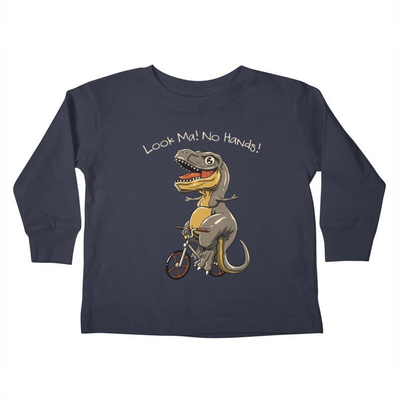 Look, Ma! No Hands! Kids Toddler Longsleeve T-Shirt by vincenttrinidad's Artist Shop