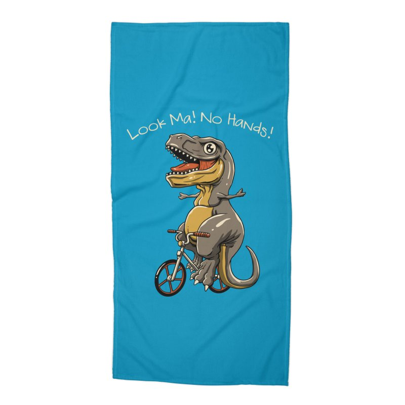 Look, Ma! No Hands! Accessories Beach Towel by vincenttrinidad's Artist Shop
