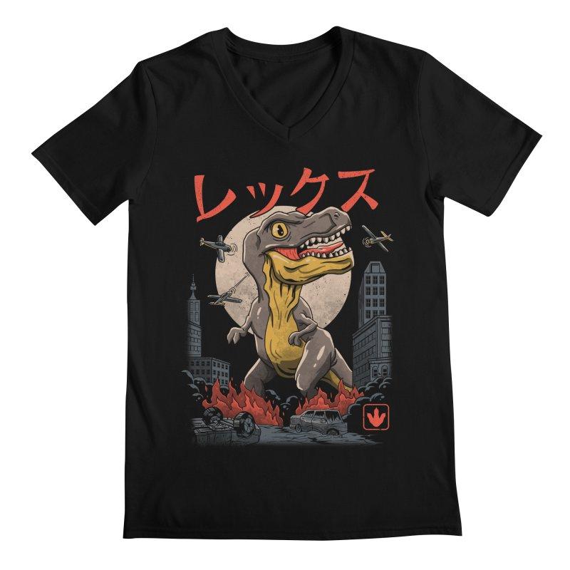 Kaiju T-Rex Men's V-Neck by vincenttrinidad's Artist Shop
