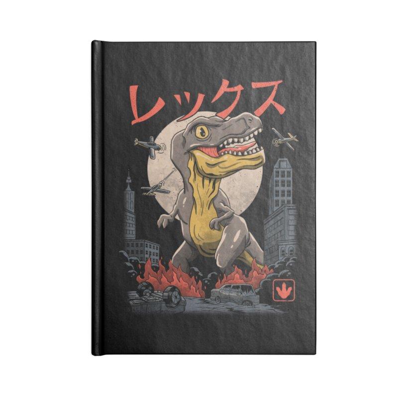 Kaiju T-Rex Accessories Notebook by vincenttrinidad's Artist Shop