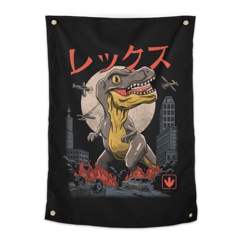 Kaiju T-Rex Home Tapestry by vincenttrinidad's Artist Shop