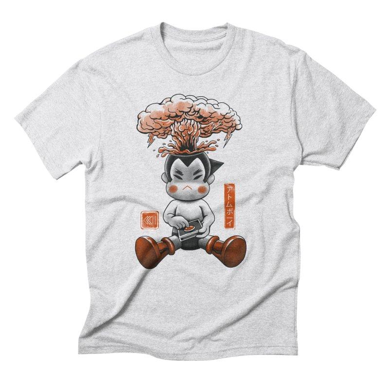 Atom Boy Men's Triblend T-Shirt by vincenttrinidad's Artist Shop