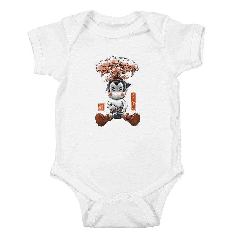 Atom Boy Kids Baby Bodysuit by vincenttrinidad's Artist Shop
