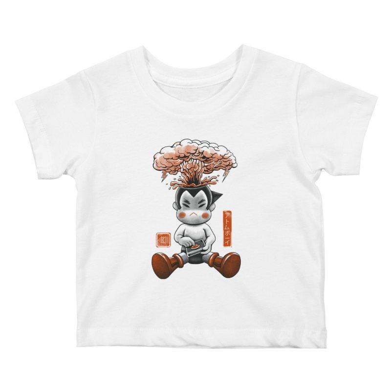 Atom Boy Kids Baby T-Shirt by vincenttrinidad's Artist Shop