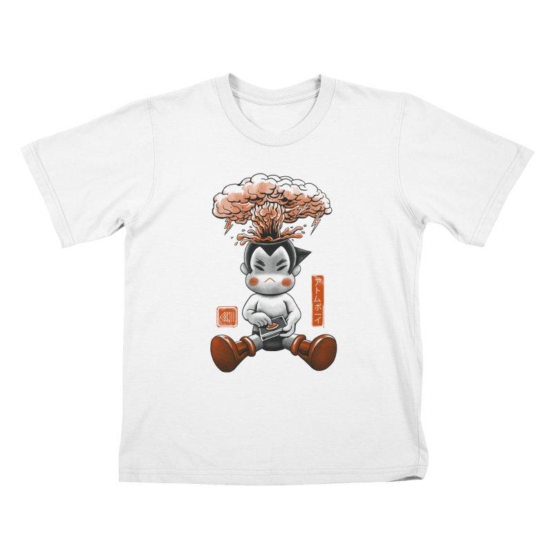 Atom Boy Kids T-Shirt by vincenttrinidad's Artist Shop
