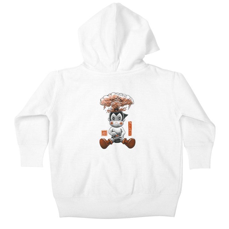 Atom Boy Kids Baby Zip-Up Hoody by vincenttrinidad's Artist Shop