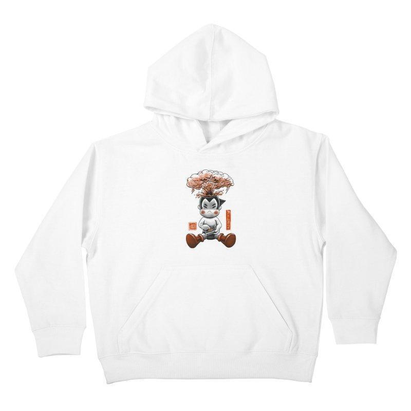 Atom Boy Kids Pullover Hoody by vincenttrinidad's Artist Shop