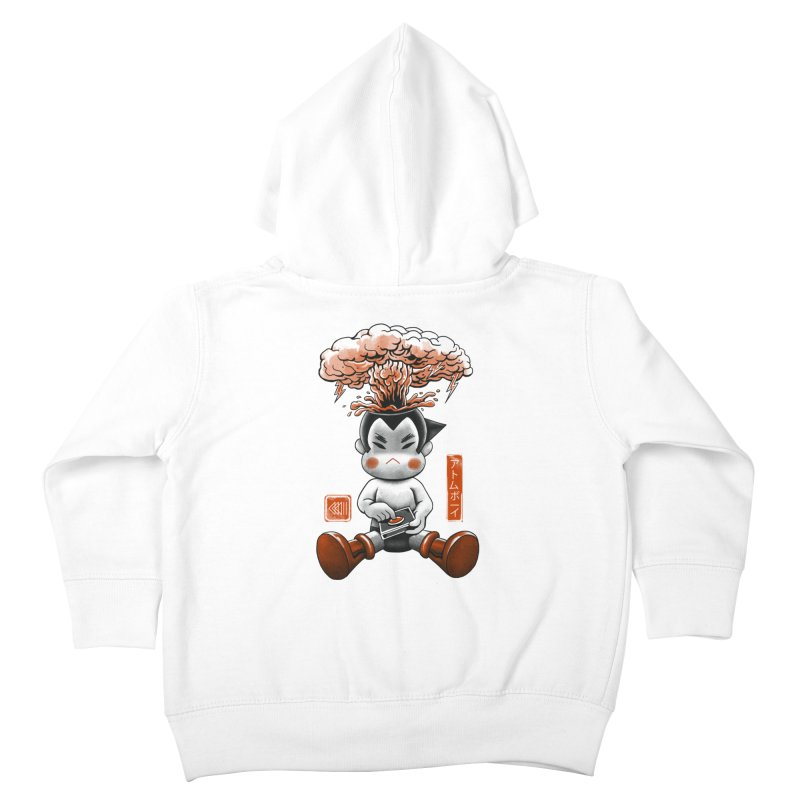 Atom Boy Kids Toddler Zip-Up Hoody by vincenttrinidad's Artist Shop
