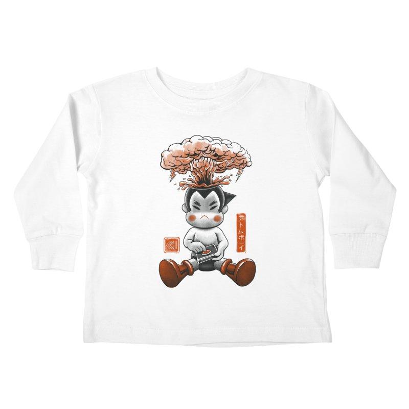 Atom Boy Kids Toddler Longsleeve T-Shirt by vincenttrinidad's Artist Shop