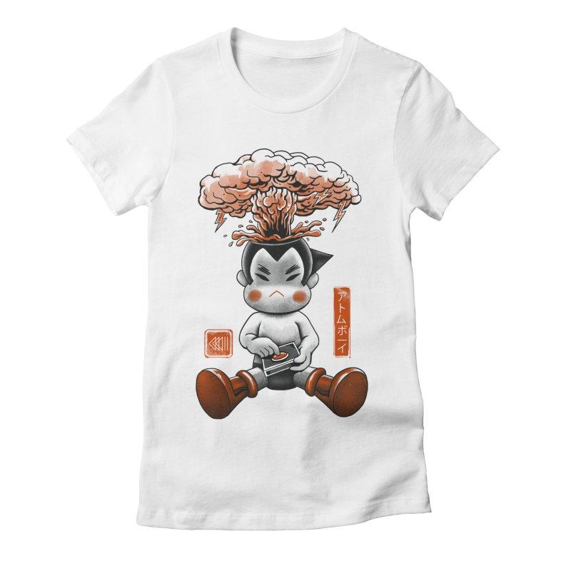 Atom Boy Women's Fitted T-Shirt by vincenttrinidad's Artist Shop