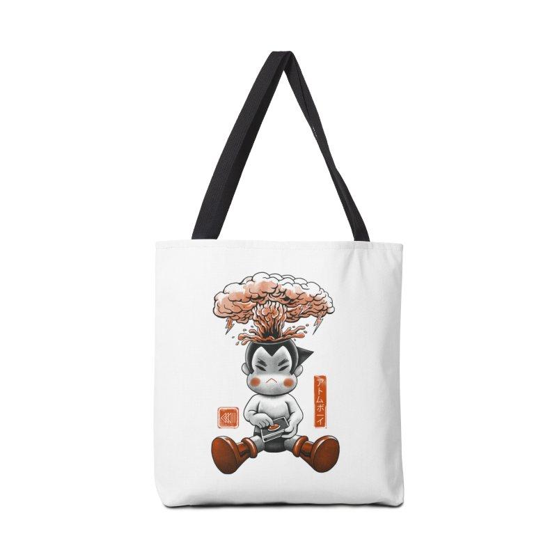 Atom Boy Accessories Bag by vincenttrinidad's Artist Shop