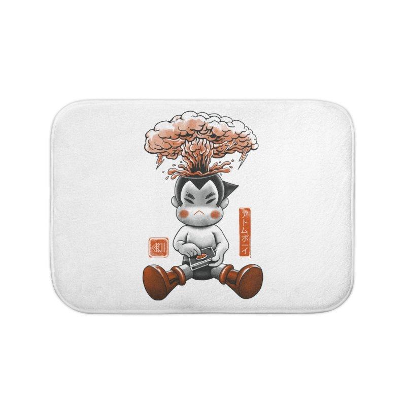 Atom Boy Home Bath Mat by vincenttrinidad's Artist Shop