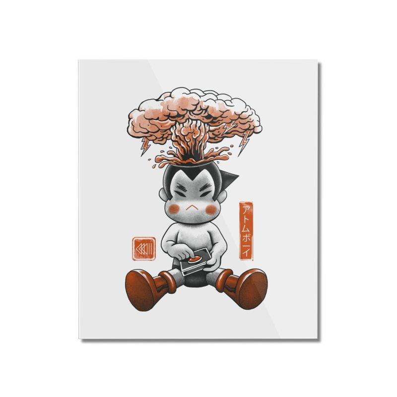 Atom Boy Home Mounted Acrylic Print by vincenttrinidad's Artist Shop