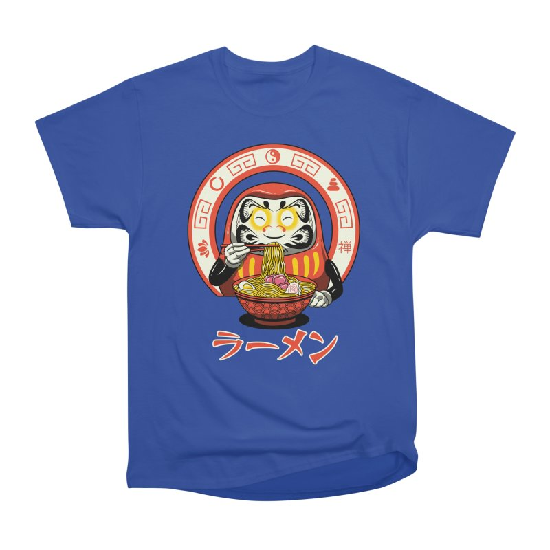 Daruma Zen Ramen Men's Heavyweight T-Shirt by vincenttrinidad's Artist Shop