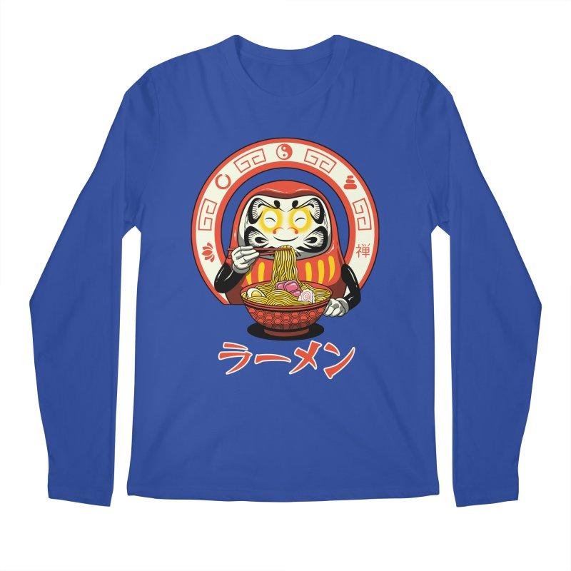 Daruma Zen Ramen Men's Longsleeve T-Shirt by vincenttrinidad's Artist Shop