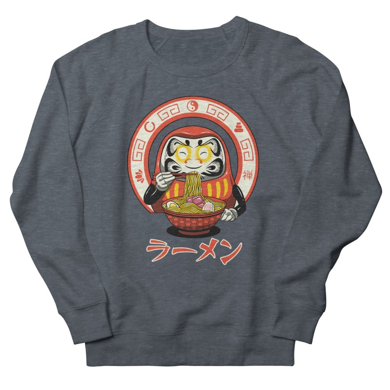 Daruma Zen Ramen Women's Sweatshirt by vincenttrinidad's Artist Shop