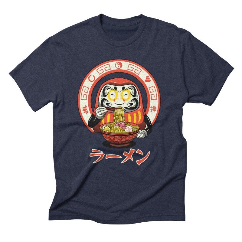 Daruma Zen Ramen Men's Triblend T-Shirt by vincenttrinidad's Artist Shop
