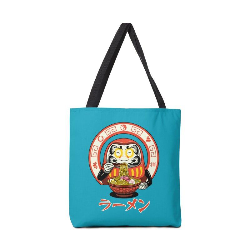 Daruma Zen Ramen Accessories Bag by vincenttrinidad's Artist Shop