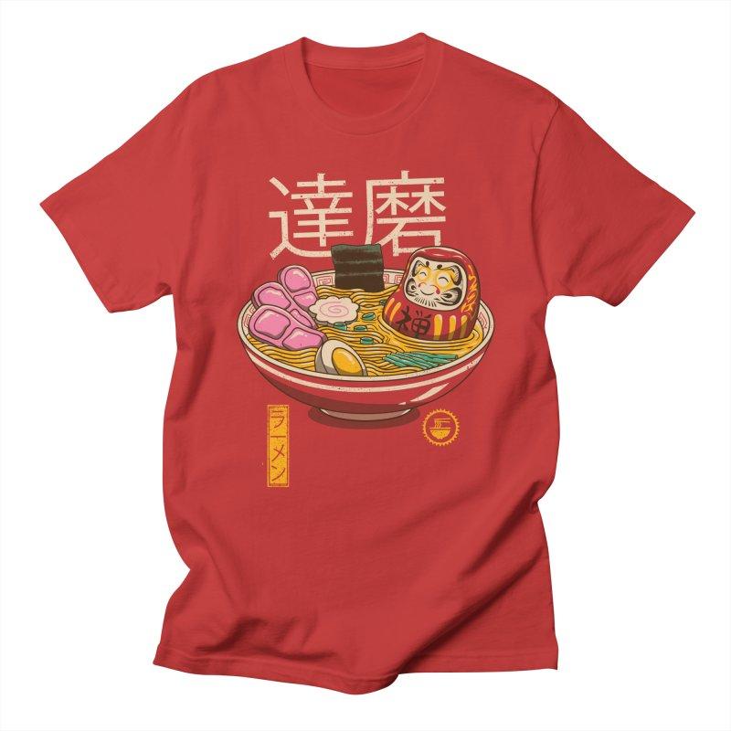 Zen Ramen in Men's Regular T-Shirt Red by vincenttrinidad's Artist Shop