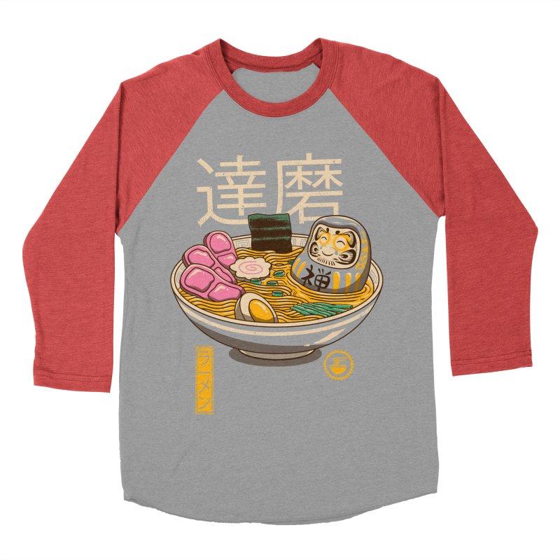 Zen Ramen Men's Baseball Triblend T-Shirt by vincenttrinidad's Artist Shop