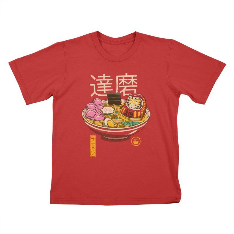 Zen Ramen Kids T-Shirt by vincenttrinidad's Artist Shop